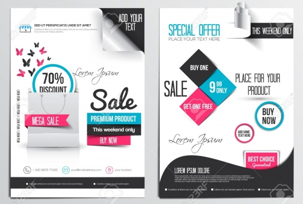 Sale & Shopping Flyer Design Template