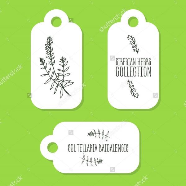 Siberian Herbs Product Tag