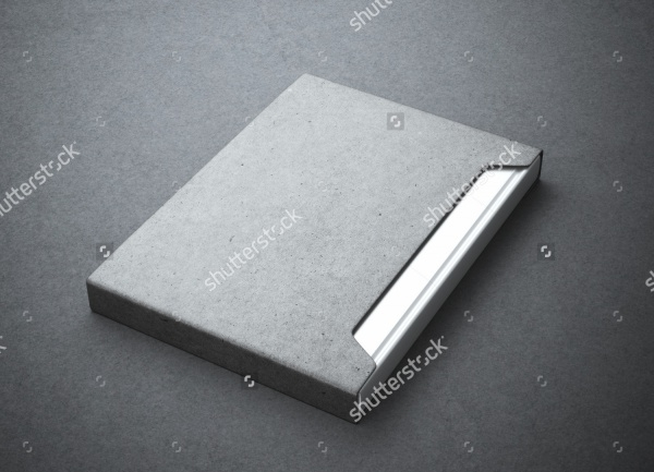 Silver Book Gray Paper Packaging