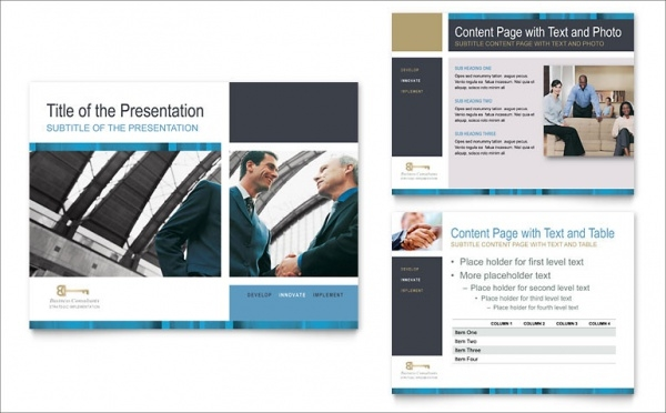 Small Business Consulting Corporate Presentation