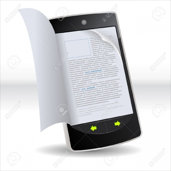 Smart Phone Electronic Magazine