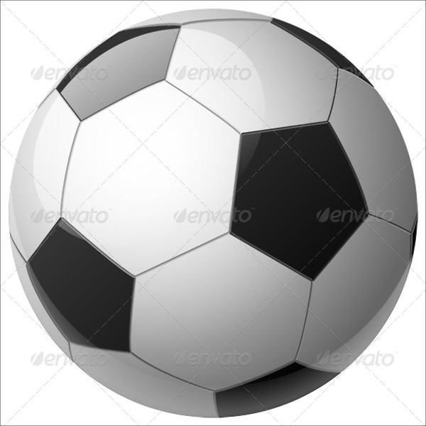 Soccer Ball Graphic Vector