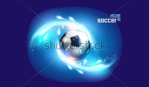 Soccer Player Ball Vector