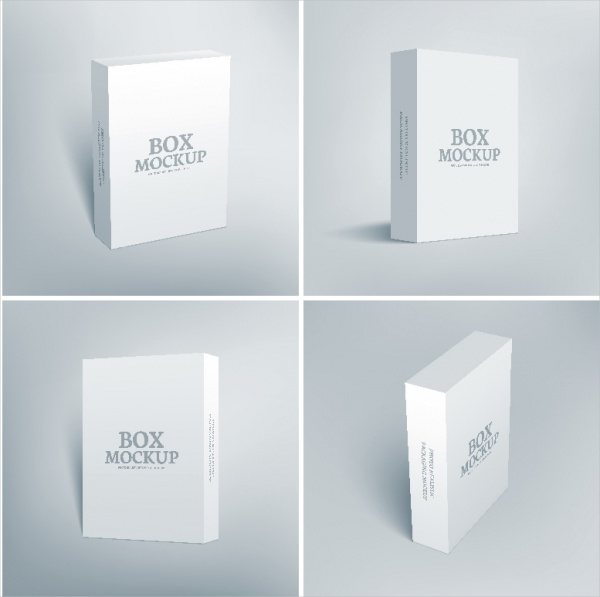 software product packaging box design
