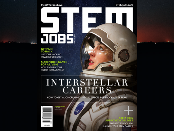 Space Technology Magazine Design