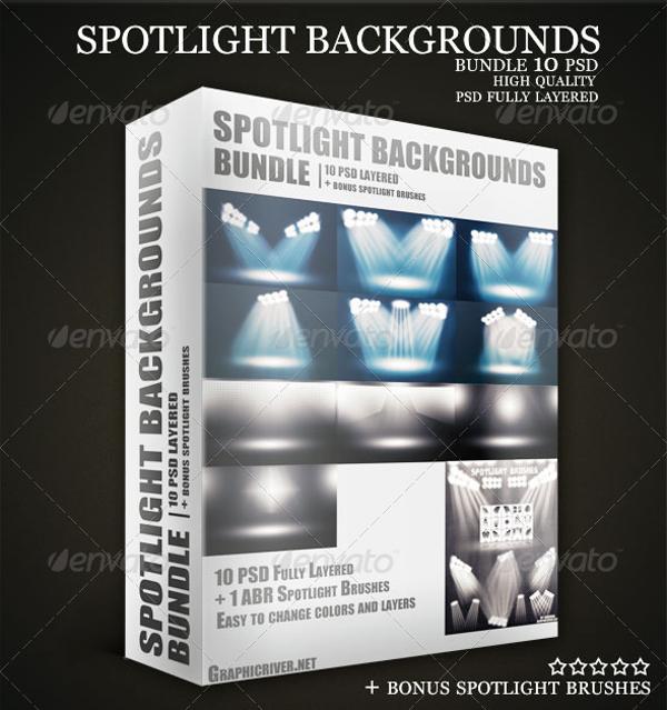 Stadium Lights Photoshop Brush: 13+ Spotlight Photoshop Brushes