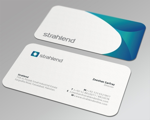 Strahlend Corporate Business Card
