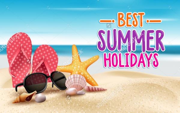Summer Accessories Illustration