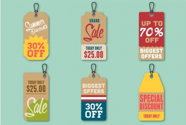 Summer Discount Price Swing Tag