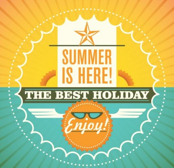 Summer Free Illustration Vector