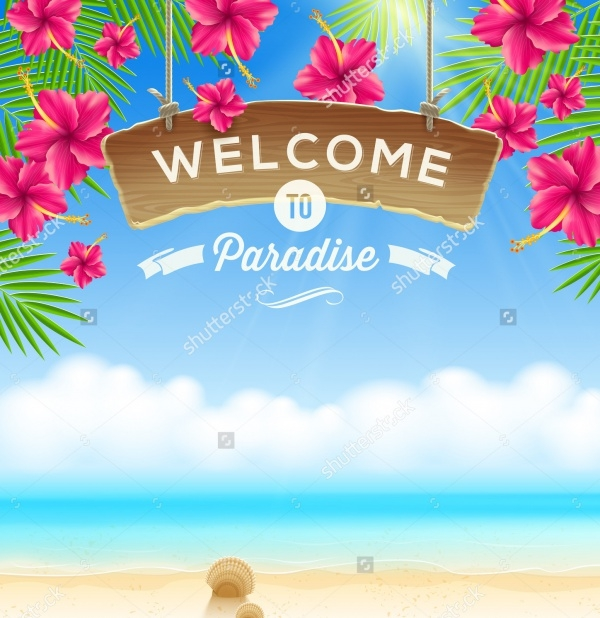 Summer Party Welcome Banner