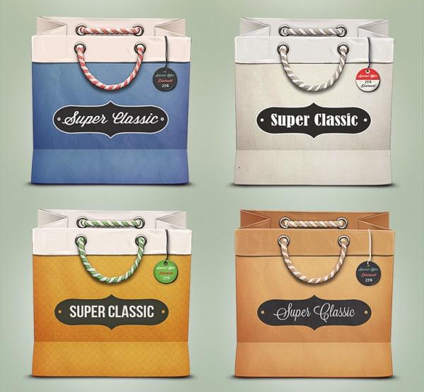 Super classic Bag Tag Design