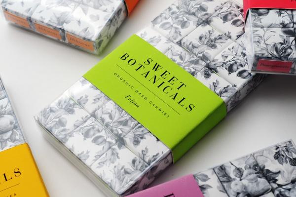 sweet botanical fruit packaging