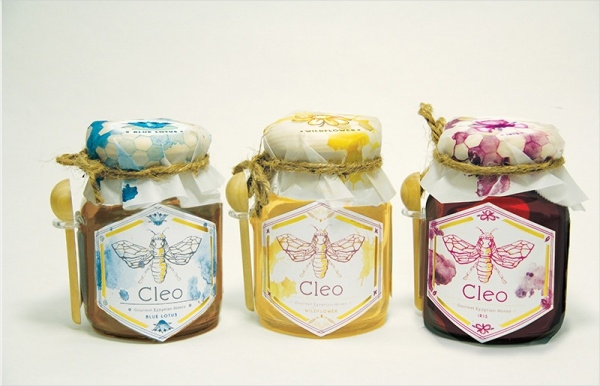 sweet egyptian honey packaging