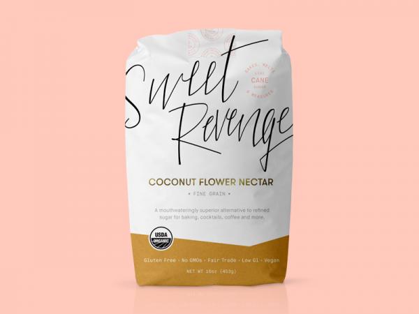 sweet revenge sugar bag packaging