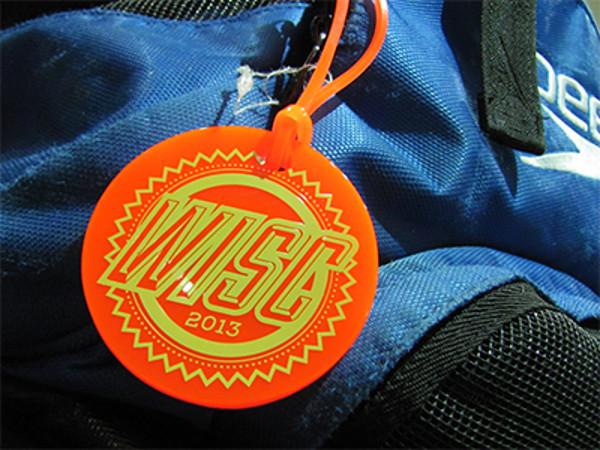 Swim Bag Tag Design