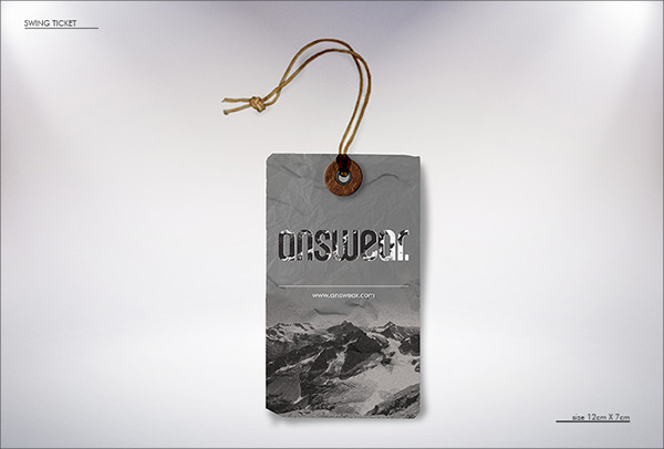 Swing Tag Ticket & Neck Label
