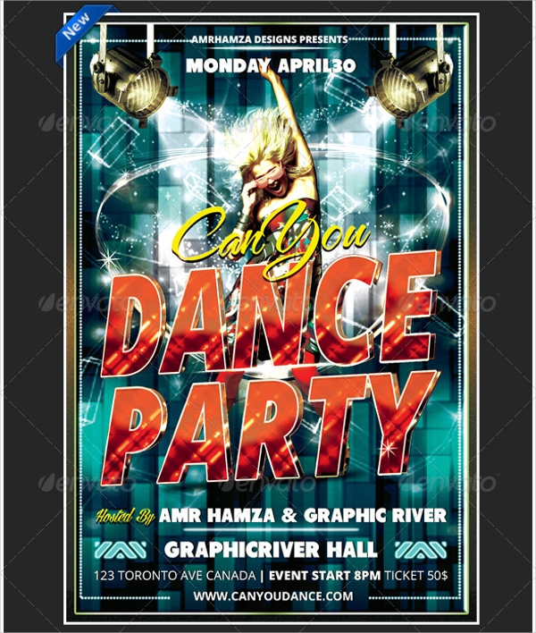 Talent Dance Show Flyer