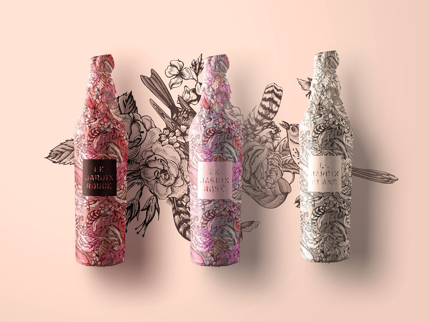 Tattoo Wine Packaging Design