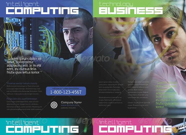 Technology Business Magazine Ad