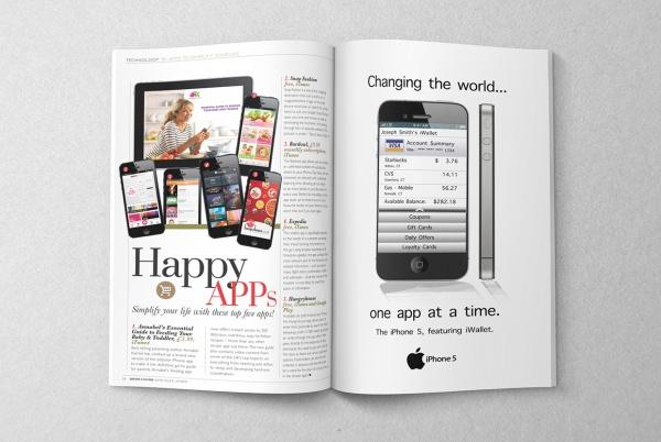 Technology Layouts Magazine Template
