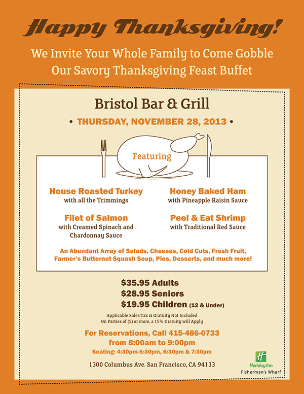 Thanksgiving Feast Invitation Template