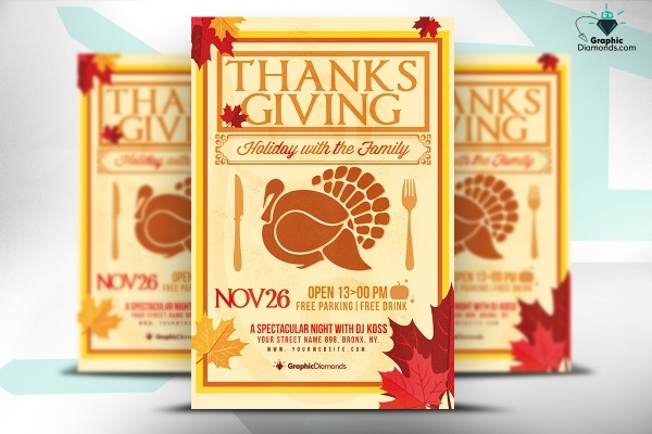 Thanksgiving Holiday Hour Flyer