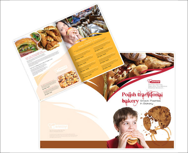 Bakery Brochure Templates PSD Vector EPS JPG Download - Bakery brochure template