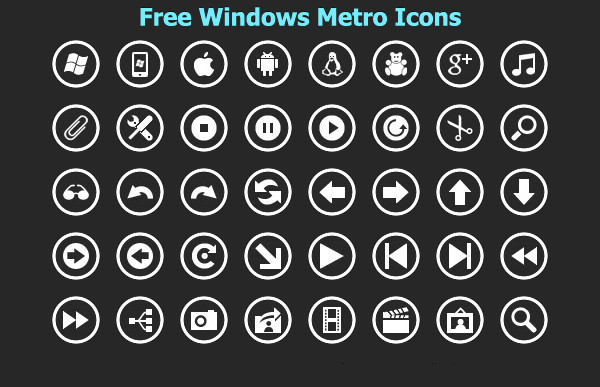 Transparent Icons for Windows