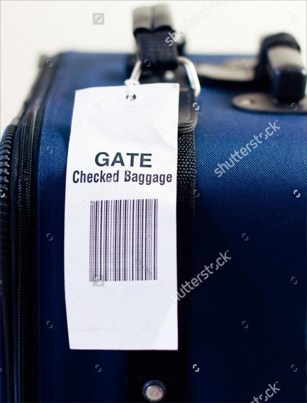 Travel Bag Tag Design