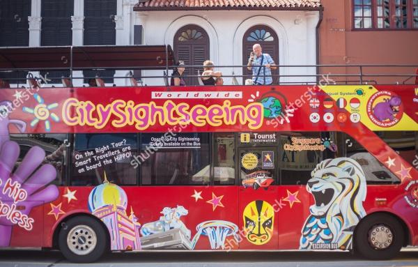 Travel Bus Advertising Design