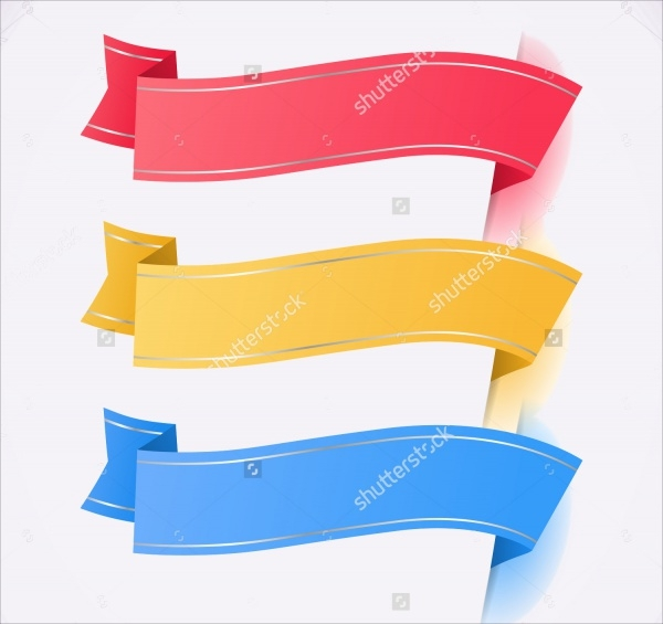 Trendy Colors Ribbon Tags