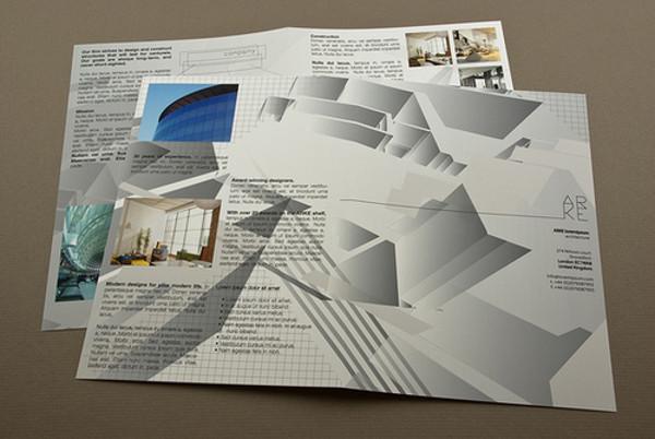 unconventional architecture commercial brochure