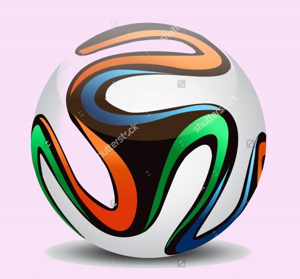 Vector Football Ball Soccer