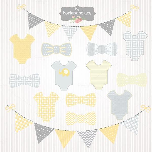 Vintage Baby Shower Banner