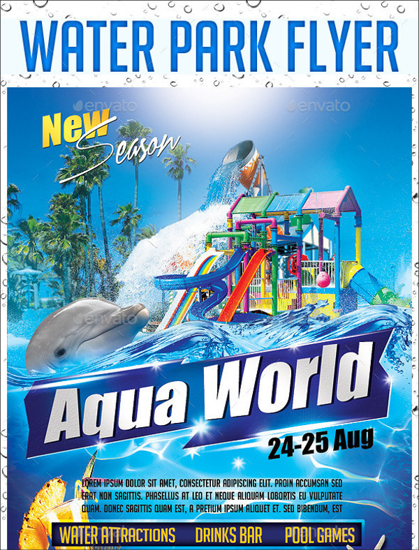 Water Park PSD Flyer