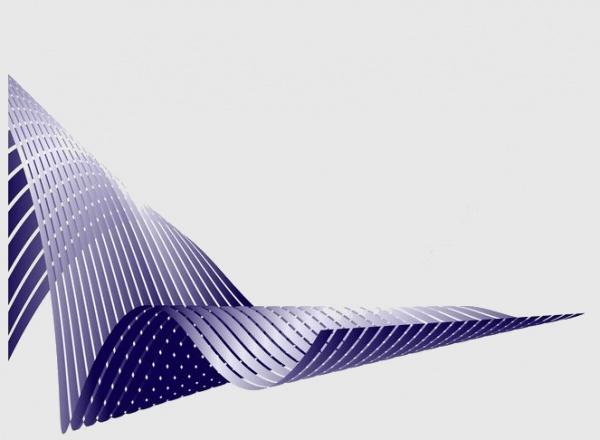 Waving Stripes Layout Background