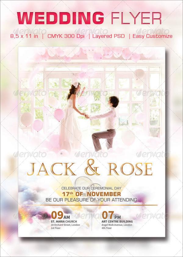 29  elegant psd wedding flyer templates