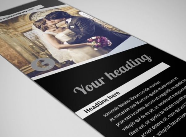 Wedding Video Service Flyer Template