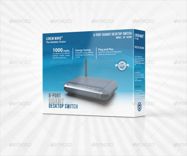 Wifi Router Product Packaging