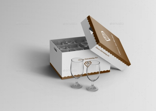 Wine Glass Box Packaging
