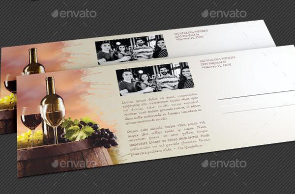 26  wine flyer designs