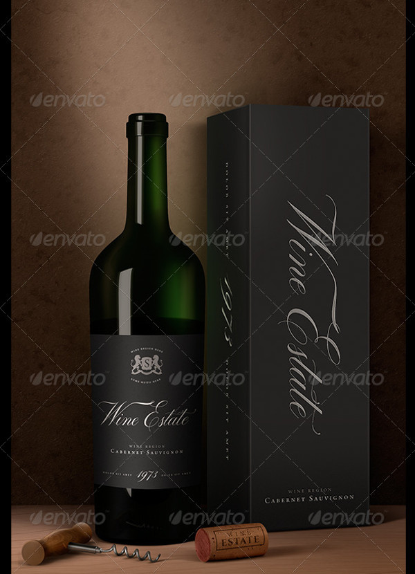 Wine Packaging Artistic Design