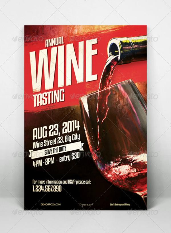 Wine Tasting Flyer