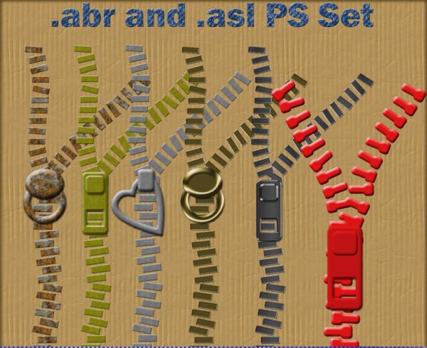 15+ Zipper Brushes - ABR, ATN, JPG Download