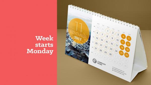 21+ Desk Calendar Designs - INDD, AI Illustrator Download