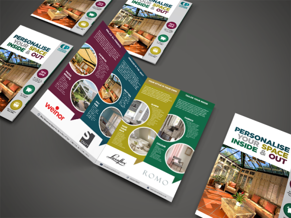 Collateral Presentation Brochure Layout