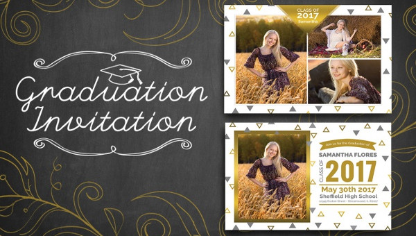 21 Graduation Party Invitations PSD AI Illustrator Download