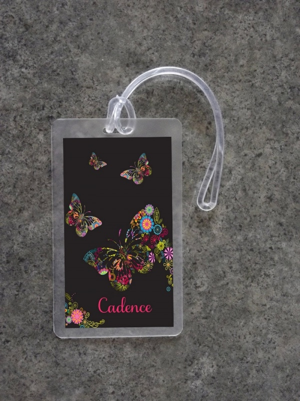 Floral Transparent ID Card