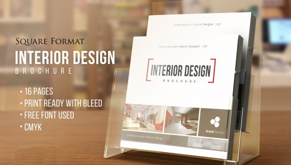 Free 33 Interior Design Brochures In Psd Vector Eps Indesign Ms Word Pages Publisher Ai
